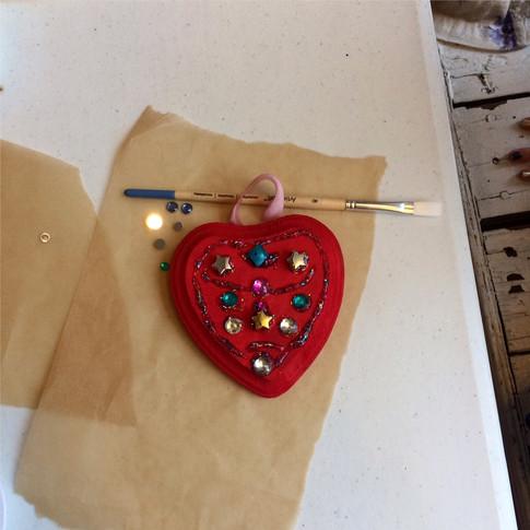 Aphrodite Decorative Heart