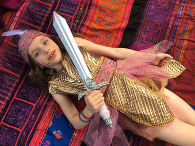 Princess Warrior Goddess Party!