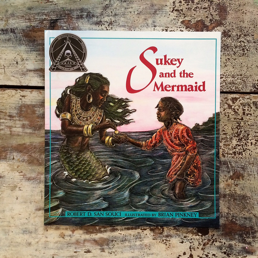 https://www.amazon.com/Sukey-Mermaid-Robert-San-Souci/dp/068980718X/ref=sr_1_1?ie=UTF8&qid=1483161126&sr=8-1&keywords=sukey+and+the+mermaid