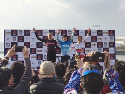 シクロクロス東京2018 女子CL1 坂口聖香選手 優勝