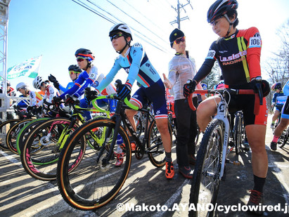 全日本シクロクロス選手権 女子エリート写真