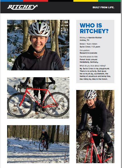 Ritchey is Kerstin Richter