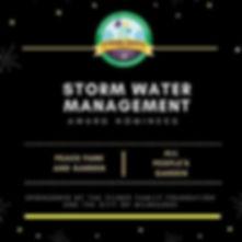 2017 Storm Water Managment Award Nominees