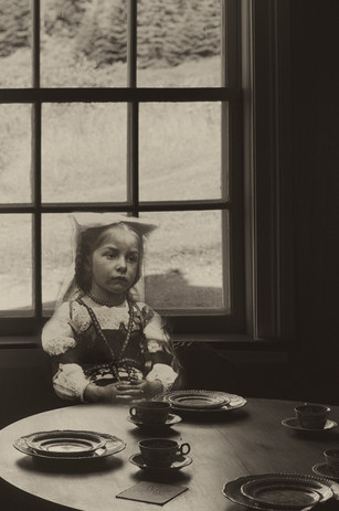 Jeune fille à table au Bic, 2017