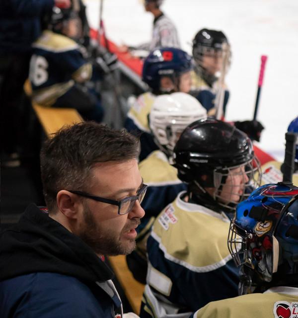 Le coach et son équipe de passionnés