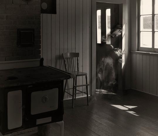 Gretchen près du poêle, Maison Feindel, 2017