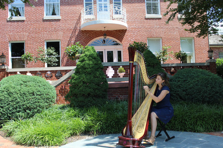 Maryland Wedding Harpist and Instructor
