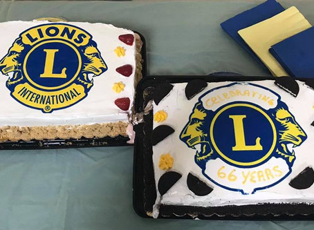 Dublin Lions celebrate 66 years at Charter Night; bring 2 more into the club!