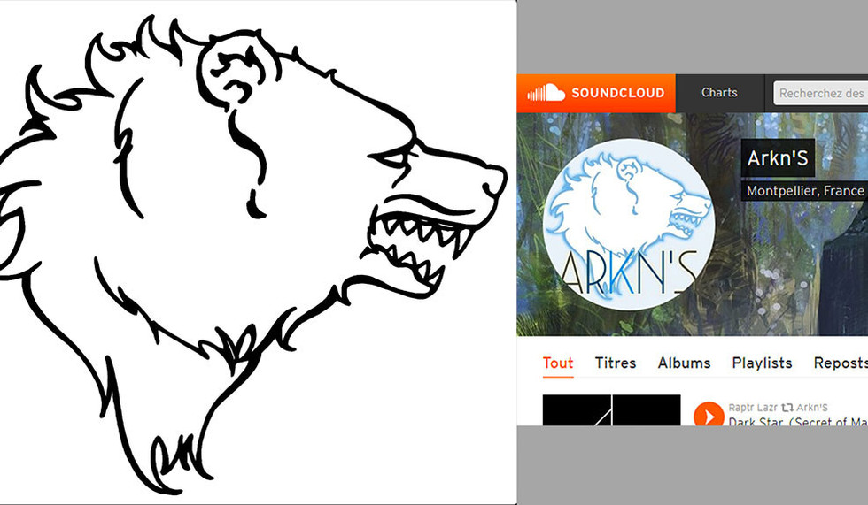 Logo d'ours - Arkns