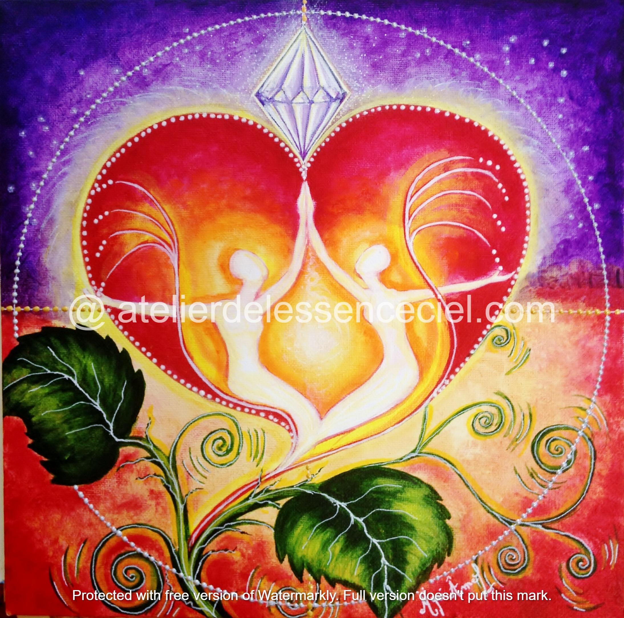 La fleur de l' Amour sacrée