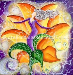 La fleur du calice sacré