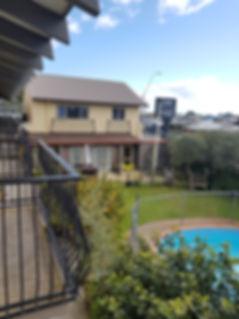 Pool view 299 on Devon West motel