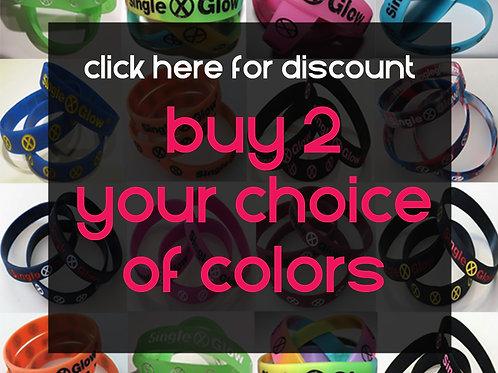 Discount to buy 2 Bracelets