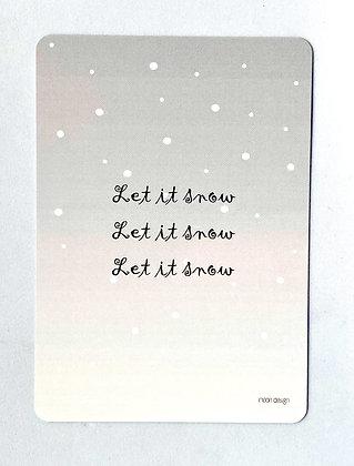 Kerstkaart + envelop