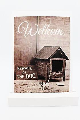 Card + envelop 'Welkom'