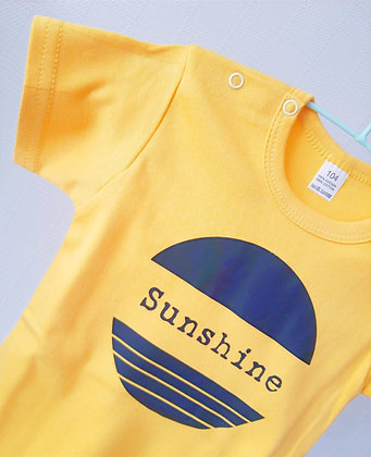 T-shirt baby/ kids sunshine