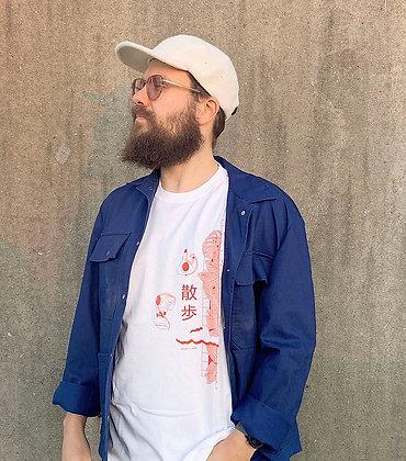 T-shirt unisex 'Walking'