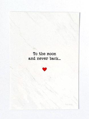 Postcard + envelop Love collection