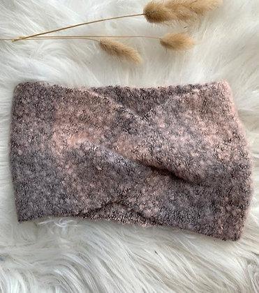 Haarband oud roze- grijs