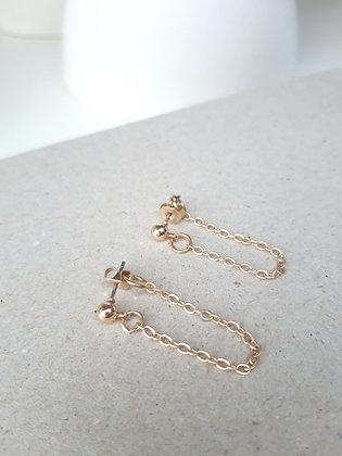 MOON Daisy earrings