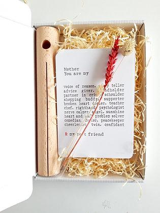 Gift box mama met vaasje