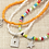 Thumbnail: Boho style necklace in 3 different colors