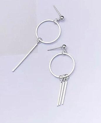 Assymetric earrings