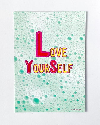 Card 'Love yourself'