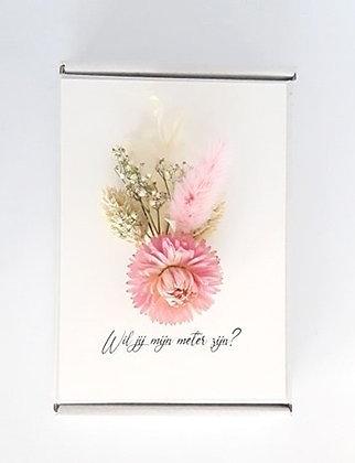 Flowercard 'Wil je mijn meter zijn?'