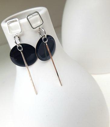 MOON Iris earrings