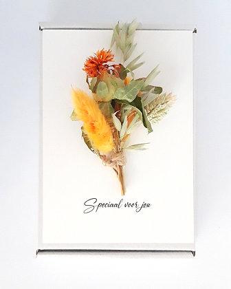 Flower card 'Speciaal voor jou'