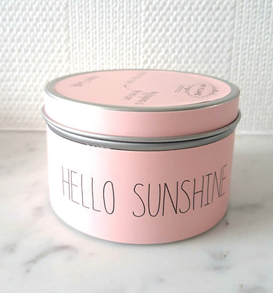 Geurkaars Medium 'Hello Sunshine'
