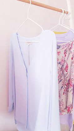 Blouse Light blue Selected Femme Size 40