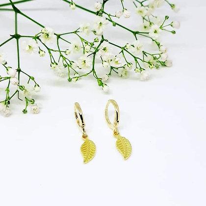 Earrings sweeties feather