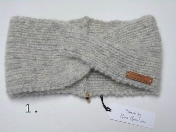 Handknitted Headband Sofie in 6 colors