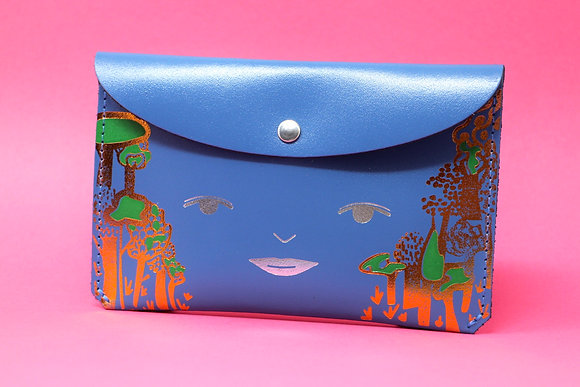 Nature purse leather