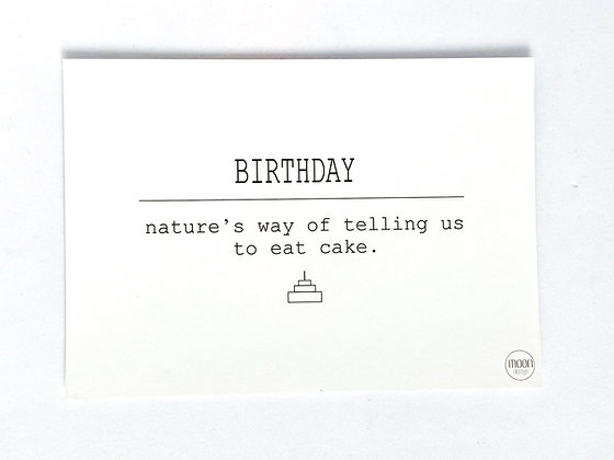 Card incl envelop