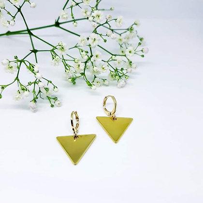 Earrings sweeties triangle
