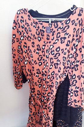 Leopard dress Ichi Size L