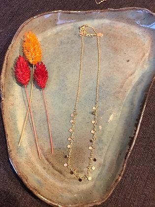FLOWBILLIES Necklace Gold Confetti