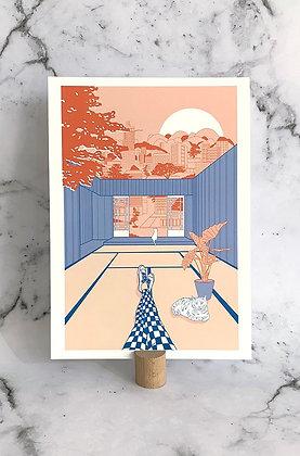 Mini print A4 'Tatami'