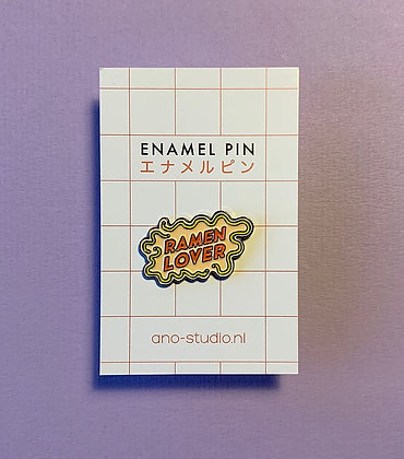Ramen Lover enamel pin