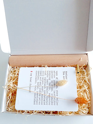 Gift box mama met buisje