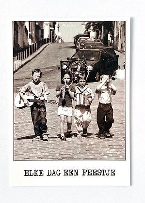 Card 'Elke dag een feestje'