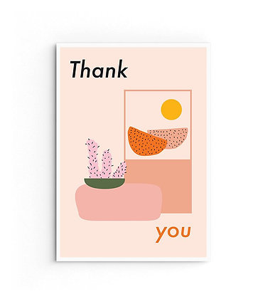 Card 'Thank you'
