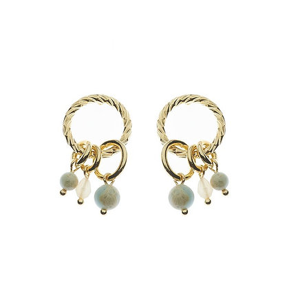 Earrings Sten gold or silver plated
