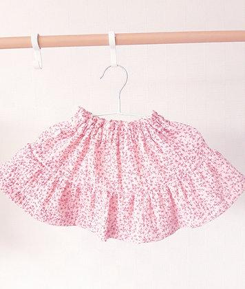 Baby rokje Molly mini roze gebloemd