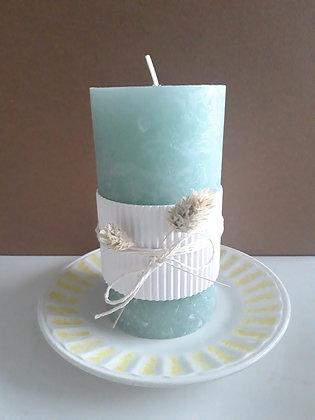 Stomp kaarsen antiquelook Medium