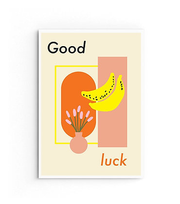 Card 'Good luck'