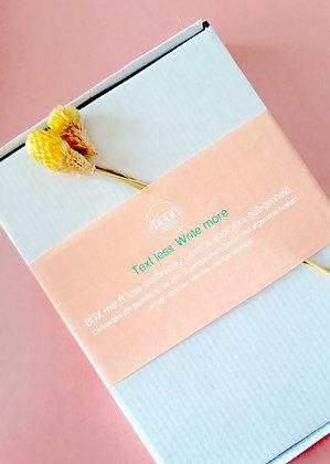 Box met 8 luxe postcards